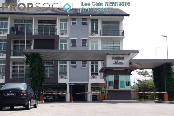 For Sale Townhouse at Pandan Indah, Pandan Indah Freehold Semi Furnished 3R/2B 580.0千