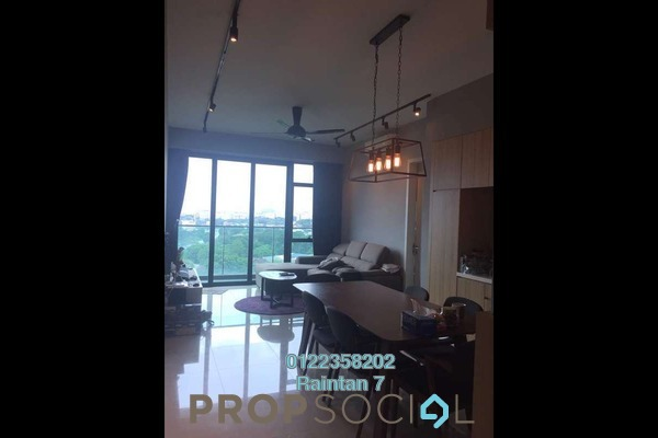 For Sale Condominium at The Leafz, Sungai Besi Freehold Semi Furnished 2R/2B 645k