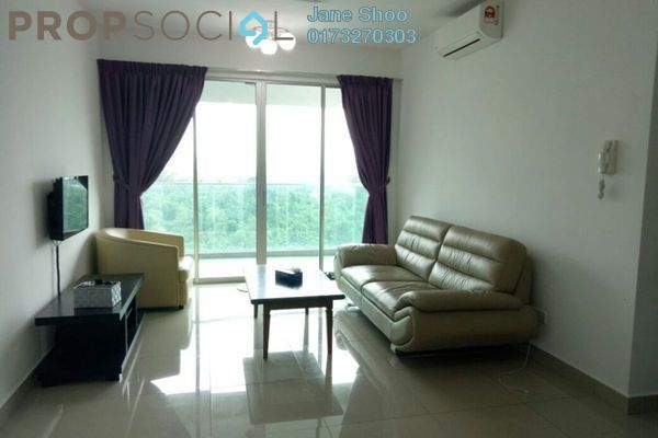 For Rent Condominium at Kiara Residence 2, Bukit Jalil Freehold Semi Furnished 4R/3B 1.7k