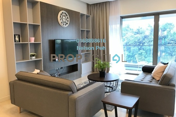 For Rent Condominium at The Sentral Residences, KL Sentral Freehold Fully Furnished 3R/4B 7k