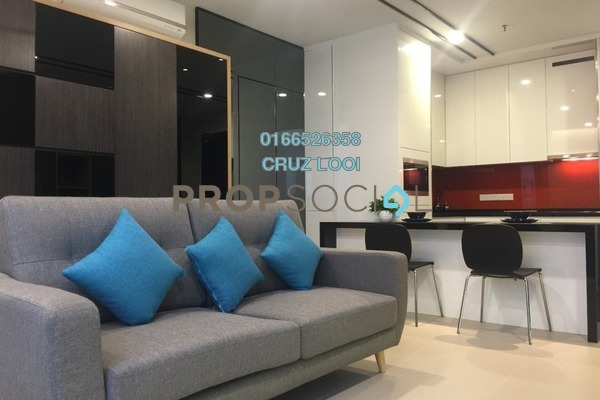 For Rent SoHo/Studio at Arcoris, Mont Kiara Freehold Fully Furnished 1R/1B 3.3k