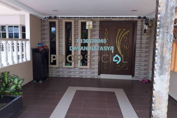 For Sale Terrace at Taman Jenaris, Kajang Freehold Semi Furnished 3R/2B 460k