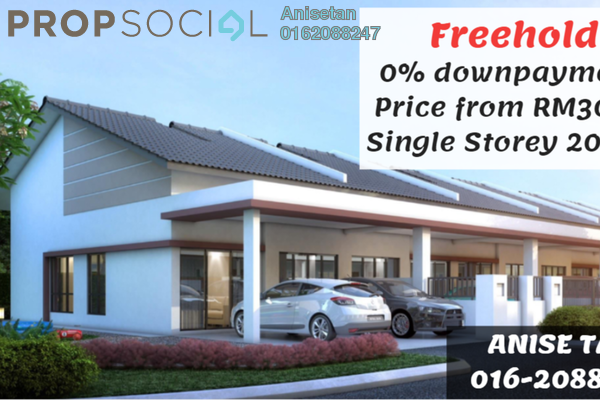 For Sale Terrace at Alamanda Parklands, Rawang Freehold Unfurnished 3R/2B 300k