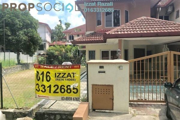 For Sale Terrace at Taman Cheras Jaya, Balakong Freehold Semi Furnished 5R/3B 628k