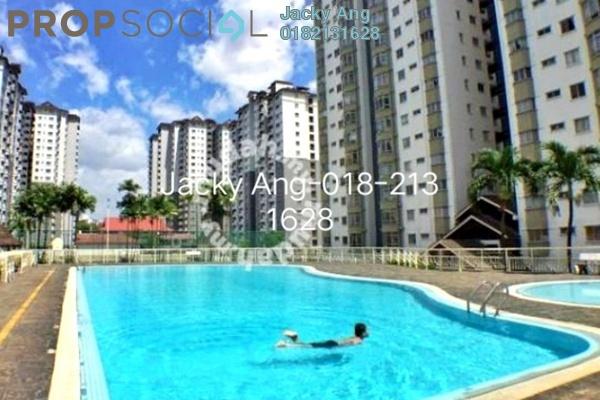 For Sale Condominium at Endah Regal, Sri Petaling Freehold Semi Furnished 3R/2B 292k