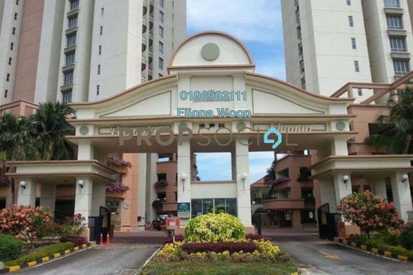 For Rent Condominium at Ocean Palms Condominium, Melaka Freehold Fully Furnished 2R/2B 1.4k