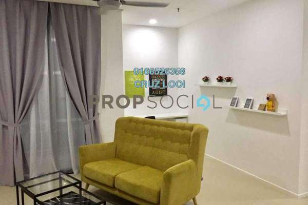 For Rent SoHo/Studio at Arcoris, Mont Kiara Freehold Fully Furnished 1R/1B 3.2k