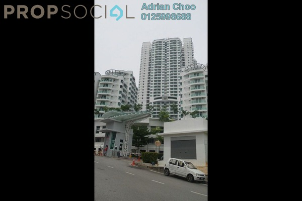 For Sale Condominium at The Oasis, Gelugor Freehold Unfurnished 3R/2B 520k