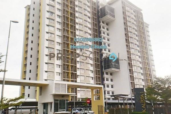 For Sale Condominium at Kalista Residence, Seremban 2 Freehold Semi Furnished 3R/2B 340k