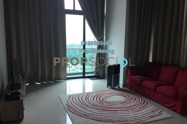 For Sale Serviced Residence at The Leafz, Sungai Besi Freehold Semi Furnished 2R/2B 790k