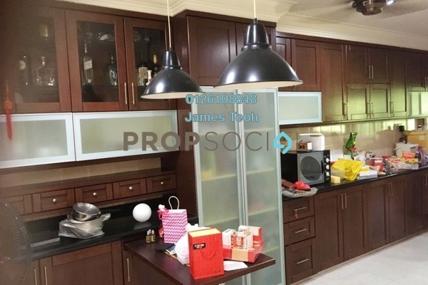 For Sale Terrace at Taman Teluk Pulai, Klang Freehold Semi Furnished 4R/3B 738k