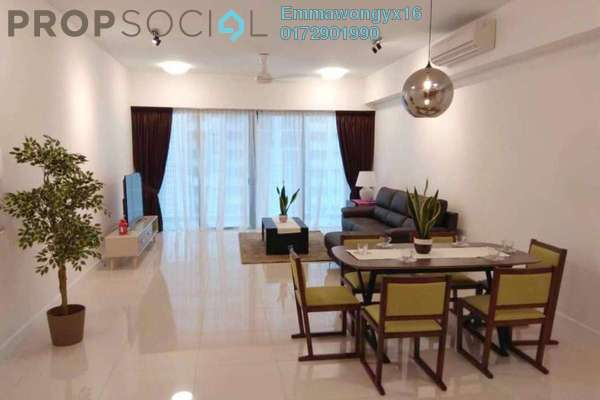 For Rent Condominium at Residensi 22, Mont Kiara Freehold Fully Furnished 3R/3B 7k
