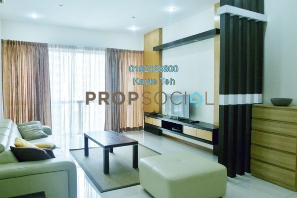 For Rent Condominium at Suasana Sentral Loft, KL Sentral Freehold Fully Furnished 3R/2B 5k