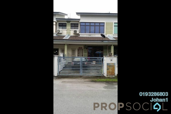 For Sale Terrace at Happy Garden, Old Klang Road Freehold Semi Furnished 4R/3B 550k