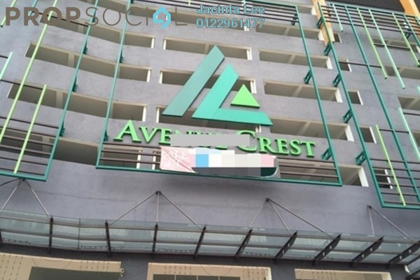 For Sale SoHo/Studio at Avenue Crest, Shah Alam Freehold Fully Furnished 0R/1B 227k