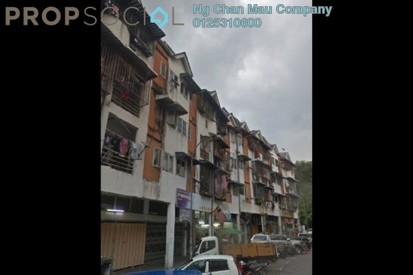 For Sale Apartment at Taman Mulia Jaya, Ampang Leasehold Semi Furnished 0R/0B 90k