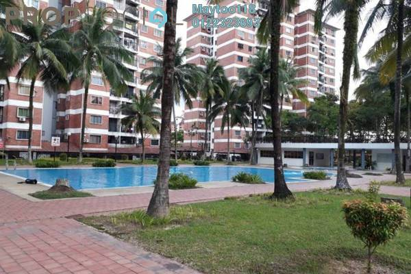 For Rent Condominium at Forest Green, Bandar Sungai Long Freehold Semi Furnished 4R/2B 1.5k