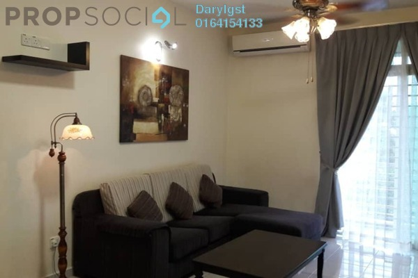 For Rent Condominium at Kelisa Heights, Seberang Jaya Freehold Fully Furnished 3R/2B 1.6k