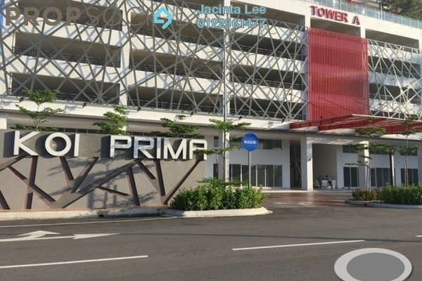 For Sale Condominium at Koi Prima, Puchong Freehold Semi Furnished 3R/2B 307k