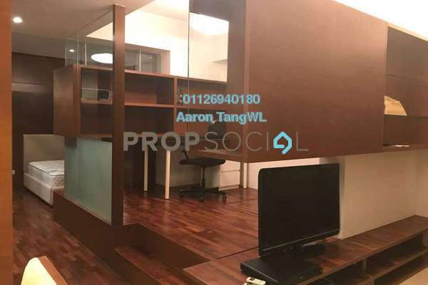 For Rent Condominium at VERVE Suites, Mont Kiara Freehold Fully Furnished 1R/2B 3.5k