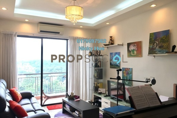 For Rent Condominium at Casa Indah 1, Tropicana Freehold Fully Furnished 2R/2B 2.1k