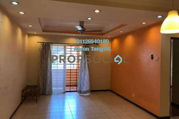For Sale Condominium at Paradesa Tropika, Bandar Sri Damansara Freehold Semi Furnished 3R/2B 518k