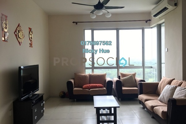 For Rent Condominium at Casa Indah 2, Tropicana Freehold Fully Furnished 2R/2B 2.3k