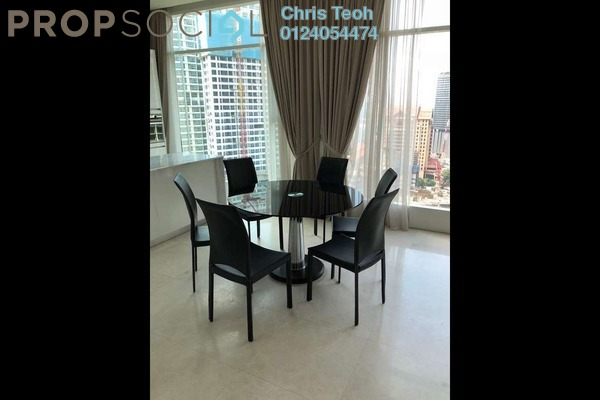 For Rent Duplex at Quadro Residences, KLCC Freehold Fully Furnished 3R/3B 9k