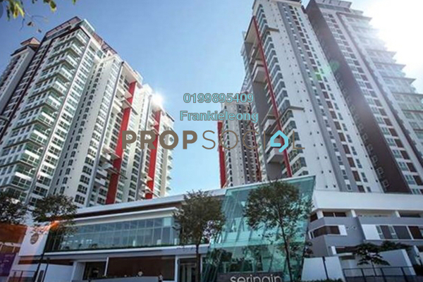 For Rent Serviced Residence at Seringin Residences, Kuchai Lama Freehold Fully Furnished 2R/2B 3.3k