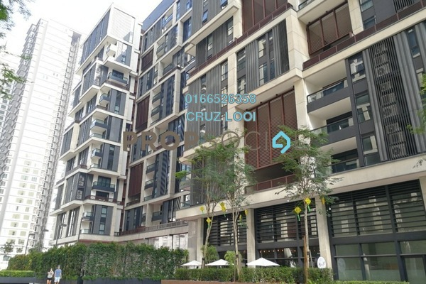 For Rent SoHo/Studio at Arcoris, Mont Kiara Freehold Fully Furnished 1R/1B 2.5k