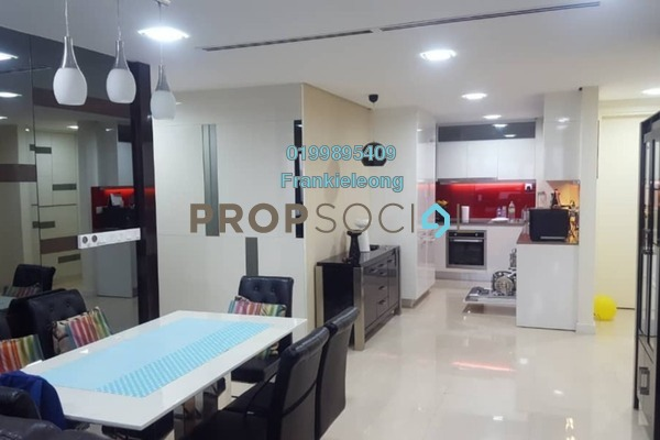 For Rent Serviced Residence at The Sentral Residences, KL Sentral Freehold Fully Furnished 3R/3B 6.5k