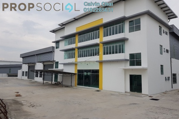 For Rent Factory at Bandar Teknologi Kajang, Semenyih Freehold Unfurnished 0R/0B 35k