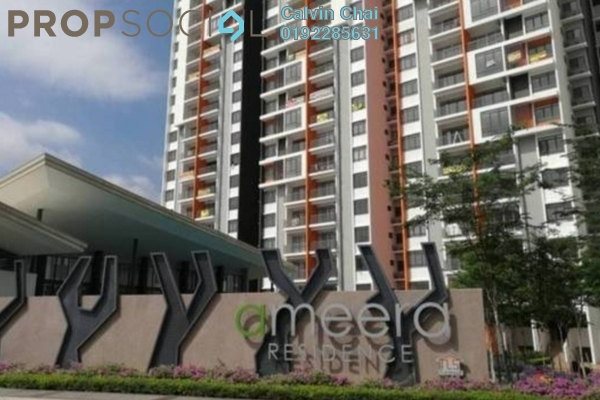 For Sale Condominium at Ameera Residence, Kajang Freehold Fully Furnished 3R/2B 450k
