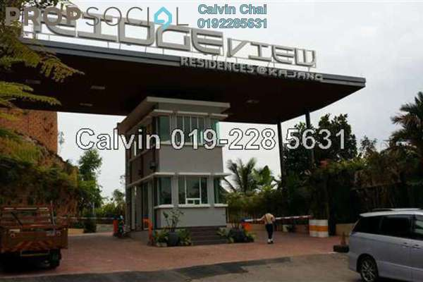 For Sale Bungalow at Ridgeview Residences, Kajang Freehold Unfurnished 4R/5B 1.68m