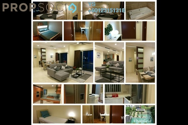 For Rent Condominium at Dua Residency, KLCC Freehold Fully Furnished 5R/5B 7k