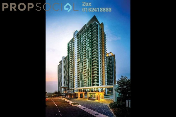 For Sale Condominium at The Z Residence, Bukit Jalil Freehold Fully Furnished 3R/2B 725k