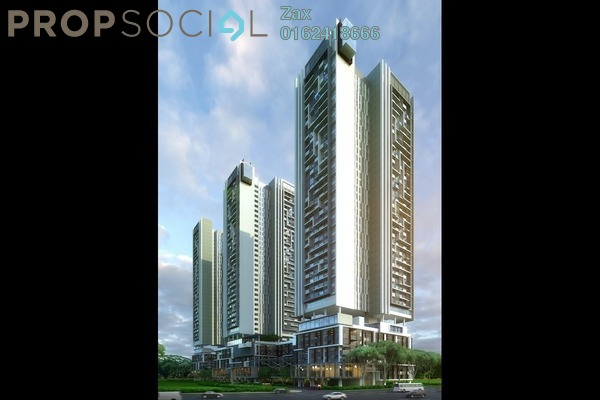 For Sale Serviced Residence at CitiZen, Old Klang Road Freehold Semi Furnished 3R/2B 765k