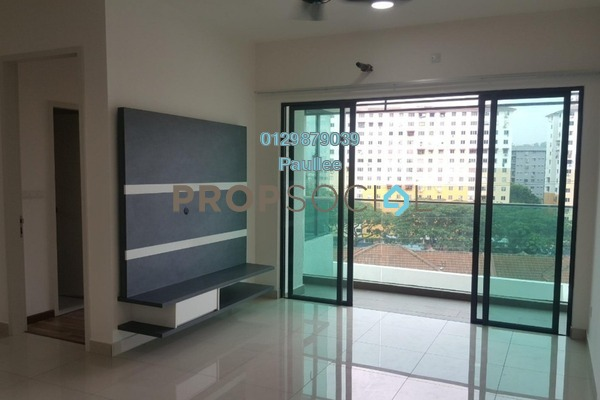 For Sale Condominium at Riverville Residences, Old Klang Road Freehold Semi Furnished 4R/2B 638k
