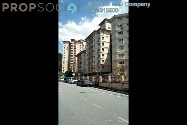 For Sale Condominium at Oakleaf Park, Bukit Antarabangsa Leasehold Semi Furnished 3R/1B 288k