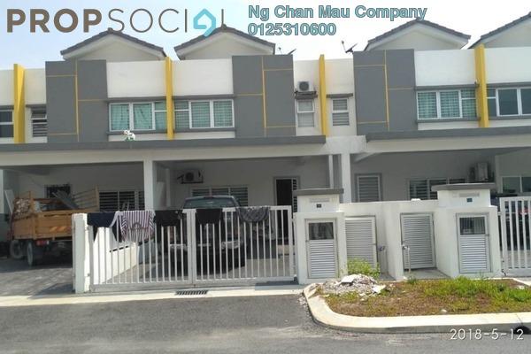 For Sale Terrace at Bandar Puncak Alam, Kuala Selangor Freehold Semi Furnished 0R/0B 405k