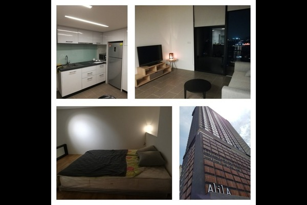 For Rent Condominium at The Establishment, Brickfields Freehold Fully Furnished 0R/1B 2.4k