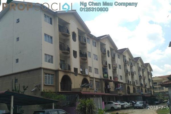 For Sale Apartment at Kampung Bukit Changgang, Banting Freehold Semi Furnished 3R/1B 90k