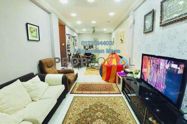 For Sale Apartment at Cheras Utama Apartment, Cheras South Freehold Semi Furnished 3R/2B 260k