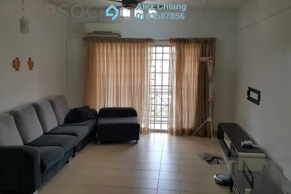 For Rent Apartment at Fadason Park, Jinjang Freehold Fully Furnished 4R/2B 1.5k