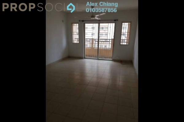 For Rent Apartment at Plaza Metro Prima, Kepong Freehold Unfurnished 4R/2B 1.4k
