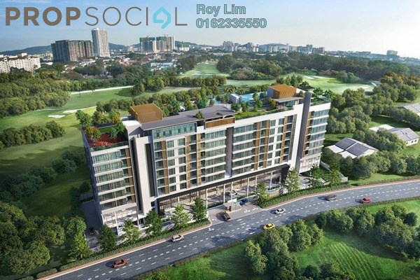 For Sale Condominium at U-Thant Residence, Ampang Hilir Freehold Semi Furnished 3R/3B 2m