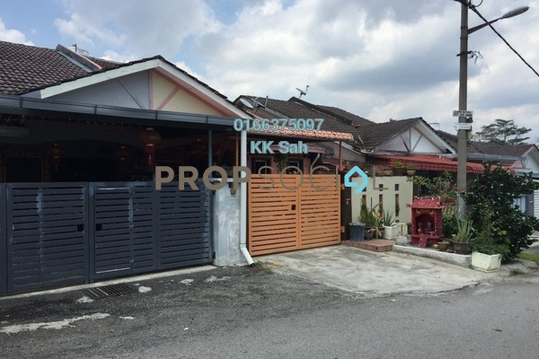 For Sale Terrace at Taman Minang, Cheras South Freehold Semi Furnished 3R/2B 400k