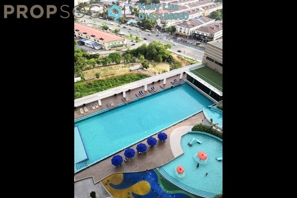 For Sale Condominium at Amerin Mall & Residence, Balakong Freehold Semi Furnished 3R/2B 478k