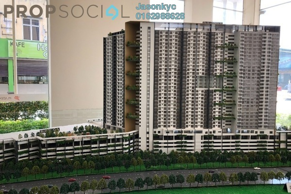 For Sale Condominium at Platinum Splendor Residence, Kuala Lumpur Freehold Unfurnished 3R/2B 400k