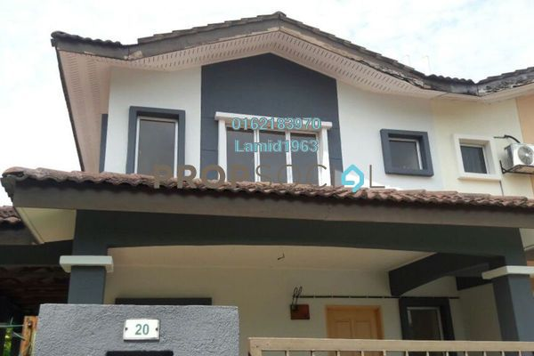 For Sale Semi-Detached at Bandar Tasik Puteri, Rawang Freehold Unfurnished 4R/3B 360k